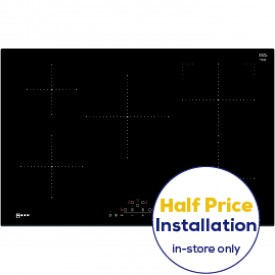 NEFF T48FD23X2 5 Zone Induction Hob 80cm Wide