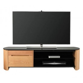 Alphason FW1350CB Light Oak TV Cabinet for screens upto 60""