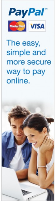 PAY PAL Vertical Banner