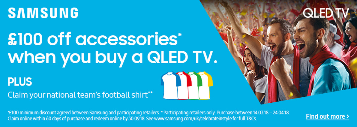 Samsung World Cup QLED TV